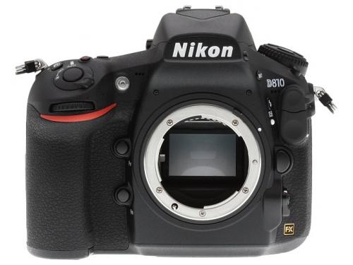 Цифровой фотоаппарат Nikon D810 Body, черный, вид 1