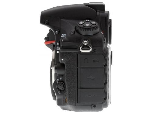 Цифровой фотоаппарат Nikon D810 Body, черный, вид 4