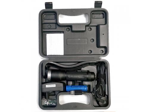 Фонарь LED Lenser M7R, 8307-r, чёрный, вид 2