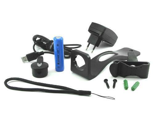 Фонарь LED Lenser M7R, 8307-r, чёрный, вид 4