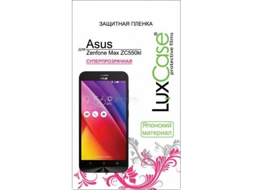 Защитная пленка для смартфона LuxCase для ASUS ZenFone Max ZC550KL (Суперпрозрачная), вид 1
