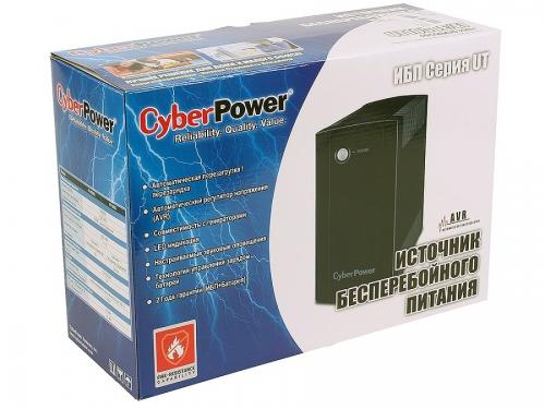 Источник бесперебойного питания CyberPower UT1050EI 1050VA, вид 2
