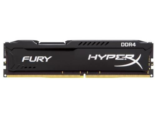 Модуль памяти Kingston HX424C15FB2/8 (DDR4, 1x8Gb, 2400MHz, CL15-15-15, DIMM), HyperX Fury, вид 1