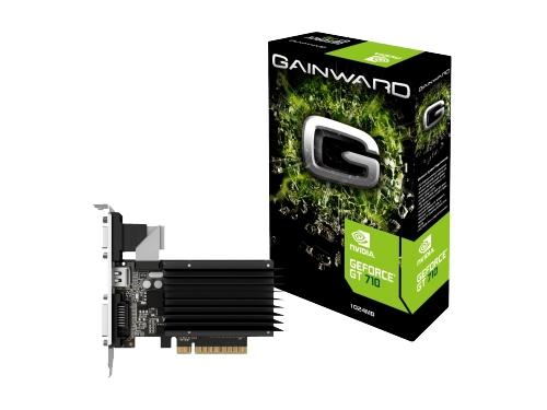 ���������� GeForce Gainward PCI-E NV GT710 1024MB DDR3 64bit 3590, ��� 4