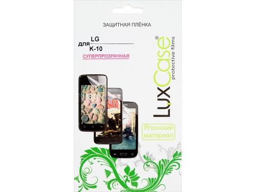 Защитная пленка для смартфона LuxCase для LG K-10 (Суперпрозрачная), вид 1
