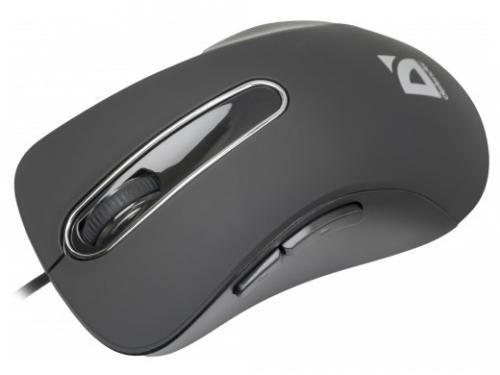 Мышка Defender Datum MM-070, черная, вид 1