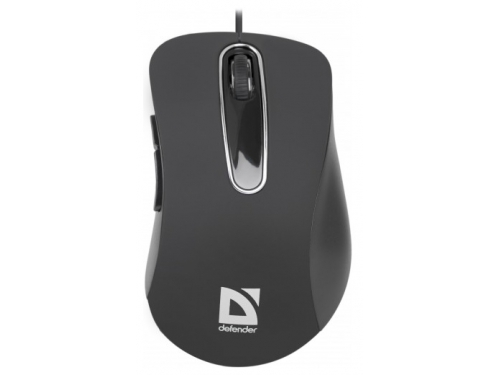 Мышка Defender Datum MM-070, черная, вид 2