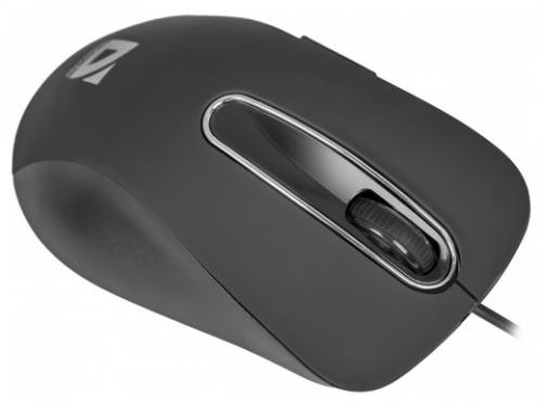Мышка Defender Datum MM-070, черная, вид 3
