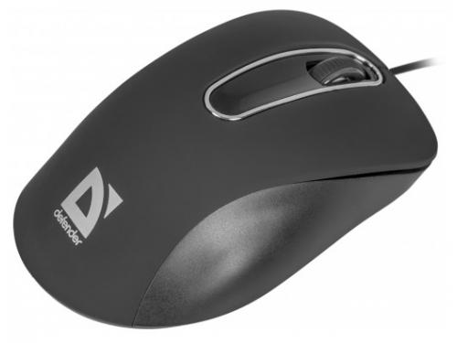 Мышка Defender Datum MM-070, черная, вид 4