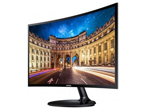Монитор Samsung C27F390FHI, черный, вид 1