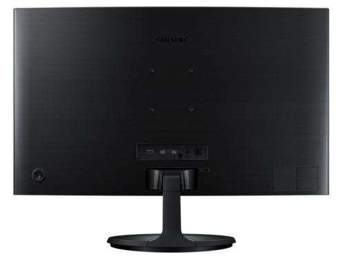 Монитор Samsung C24F390FHI, черный, вид 4