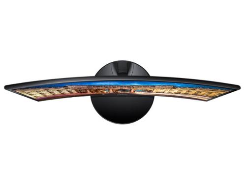 Монитор Samsung C24F390FHI, черный, вид 5