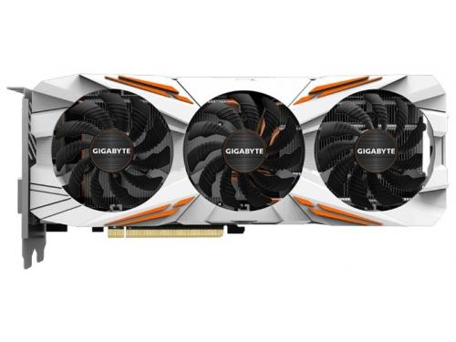 Видеокарта GeForce Gigabyte GeForce GTX 1080 Ti 1544Mhz PCI-E 3.0 11264Mb 11010Mhz 352 bit DVI HDMI HDCP Gaming OC [GV-N108TGAMING OC-11GD], вид 2