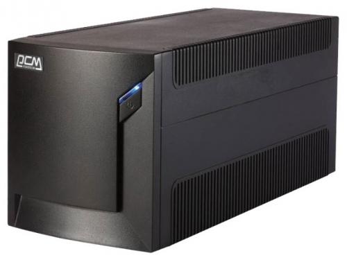 Источник бесперебойного питания Powercom RPT-2000AP 1200W, черный, вид 1
