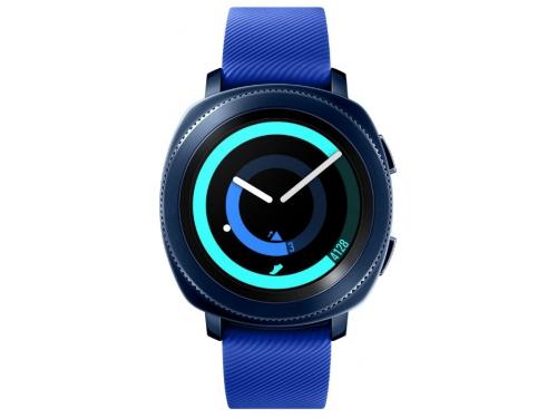 Умные часы Samsung Galaxy Gear Sport SM-R600NZBASER, синие, вид 2
