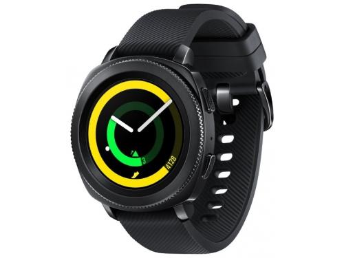 Умные часы Samsung Galaxy Gear Sport SM-R600NZKASER, черные, вид 1
