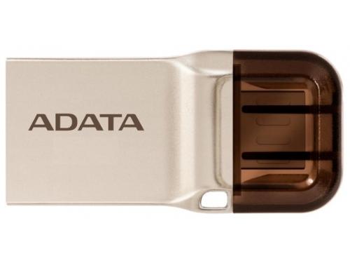 Usb-флешка Adata DashDrive UC360 64Gb, Золотая, вид 1