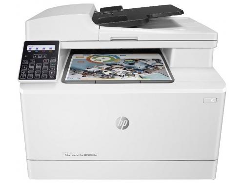 МФУ HP Color LaserJet Pro MFP M181fw (настольное), вид 1