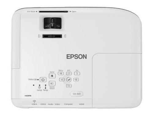 Мультимедиа-проектор Epson EB-X41 (портативный), вид 3