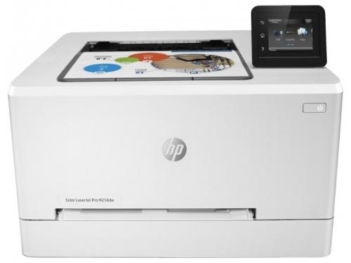 Принтер лазерный цветной HP Color LaserJet Pro M254dw (настольный), вид 1
