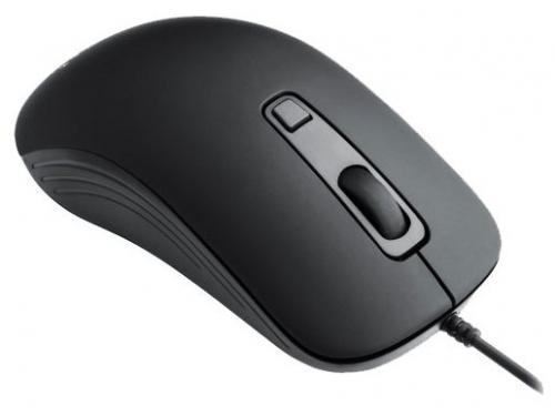 Мышь Oklick 155M Optical mouse, черная / серая, вид 3