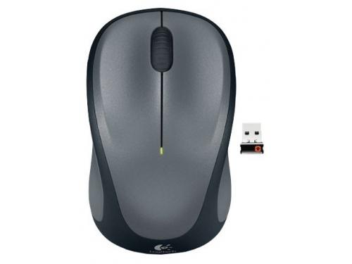 Мышка Logitech Wireless Mouse M235 910-003146 Colt Glossy Black-Grey USB, вид 2