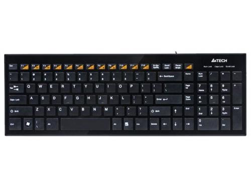 Клавиатура A4Tech KX-100 Black USB, вид 2