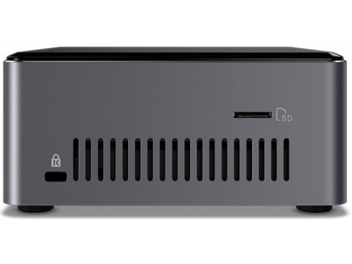 Фирменный компьютер Intel NUC BOXNUC7I3BNHX1, серебристо-черный, вид 3
