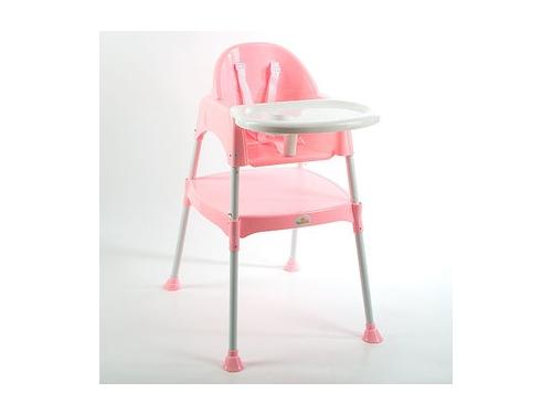 Стульчик для кормления Funkids Eat And Play (и занятий), розовый, вид 1