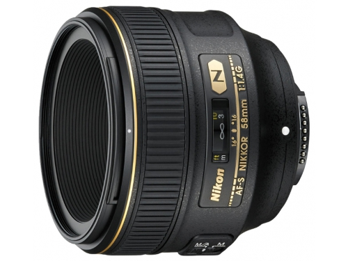 Объектив для фото Nikon 58mm f/1.4G AF S Nikkor, вид 2