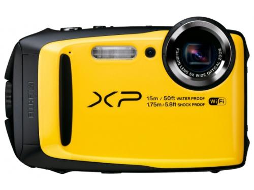 Цифровой фотоаппарат Fujifilm FinePix XP90, желтый, вид 1