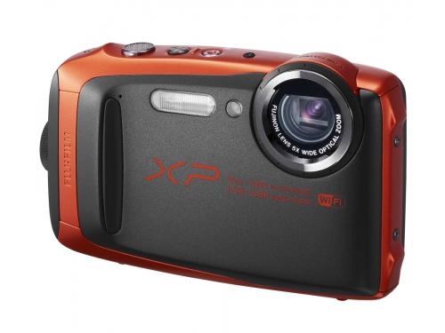 Цифровой фотоаппарат Fujifilm FinePix XP90, оранжевый, вид 1