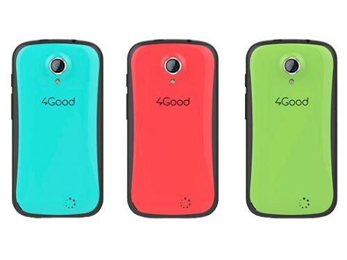 Смартфон 4Good Kids S45, синий, вид 4