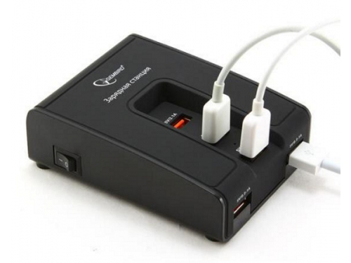 Зарядное устройство Gembird MP3A-PC-02, вид 2