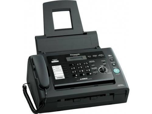 Факс Panasonic KX-FL423RU, черный, вид 1