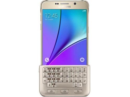 Чехол для смартфона Samsung для Samsung Galaxy Note 5 (EJ-CN920RFEGRU), золотистый, вид 1
