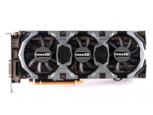 ���������� GeForce Inno3D GeForce GTX 980 Ti 1038Mhz PCI-E 3.0 6144Mb 7000Mhz 384 bit DVI HDMI HDCP (N98TV-1SDN-N5HNX), ��� 1