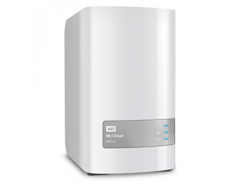 ������� ���������� WD My Cloud Mirror Gen 2 4TB (2x 2Tb, LAN/USB), WDBWVZ0040JWT-EESN, ��� 1