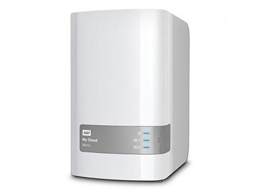 ������� ���������� WD My Cloud Mirror Gen 2 4TB (2x 2Tb, LAN/USB), WDBWVZ0040JWT-EESN, ��� 2