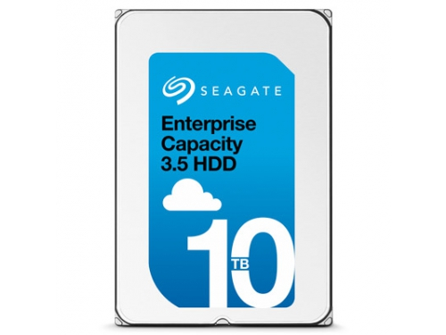 Жесткий диск Seagate ST10000NM0016, 10 Тб, 256Mb, 3.5'', 7200rpm, SATA3, Гелий, вид 1