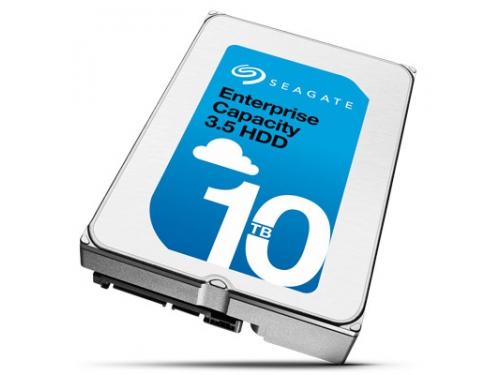 Жесткий диск Seagate ST10000NM0016, 10 Тб, 256Mb, 3.5'', 7200rpm, SATA3, Гелий, вид 2