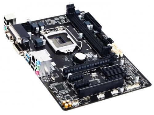 Материнская плата Gigabyte GA-B85M-D3V-A (rev. 1.0) (mATX, LGA1150, Intel B85, 4xDDR3), вид 2