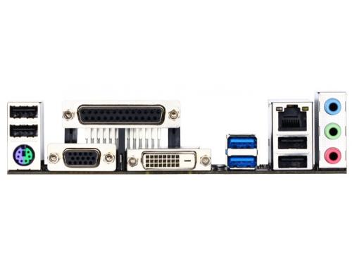 Материнская плата Gigabyte GA-B85M-D3V-A (rev. 1.0) (mATX, LGA1150, Intel B85, 4xDDR3), вид 4