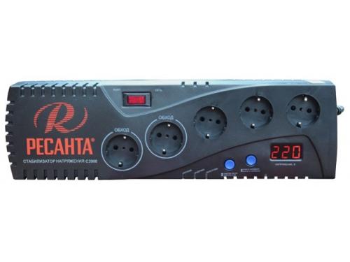 Стабилизатор напряжения Ресанта С2000 (1.95 кВт), вид 1