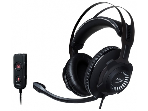 Гарнитура для ПК HyperX Cloud Revolver S (HX-HSCRS-GM/EE), surround 7.1, 12-28000 Гц, вид 2