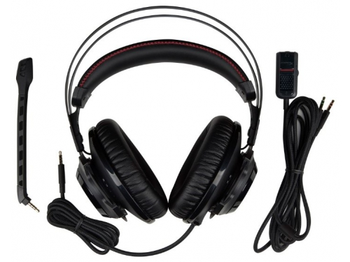 Гарнитура для ПК HyperX Cloud Revolver S (HX-HSCRS-GM/EE), surround 7.1, 12-28000 Гц, вид 3