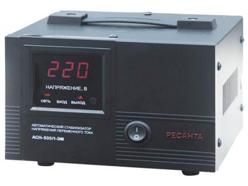 Стабилизатор напряжения Ресанта ACH-500 /1- ЭМ (500 Вт), вид 1