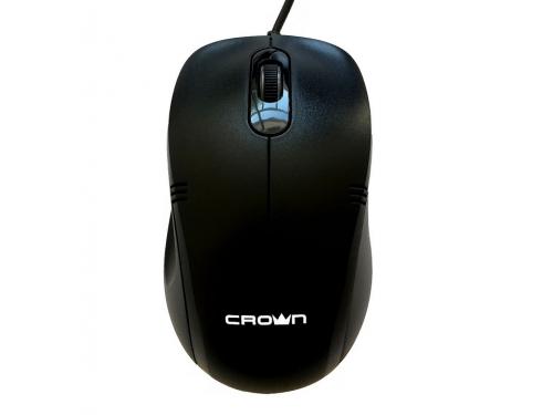 Мышь Crown CMM-501 Silent черная, вид 1