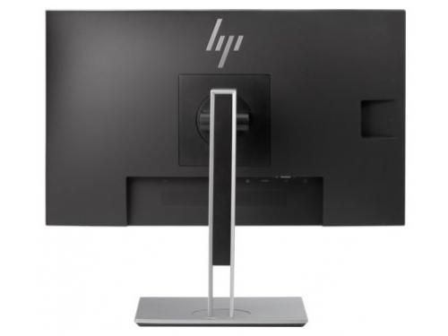 Монитор HP EliteDisplay E233, серебристый, вид 3