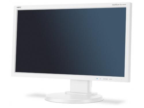 Монитор NEC E233WMI, серебристо-белый, вид 1